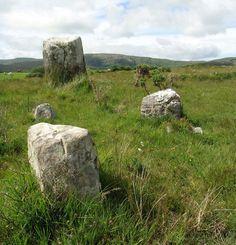 ancient stone circle on private grounds, Glengarriff, County Cork. Creativity…