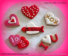 Veena Art Of Cake Fondant Recipe : Best Sugar Cookies From Valentine Heart Pops Royal Icing ...