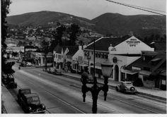 Pacific Coast Highway, Laguna Beach, CA, 1940's