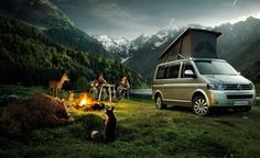 VW California 'my paradise.......me, Andy and the great outdoors'.