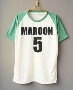 Adam Levine TShirt Maroon 5 TShirt Rock TShirt by adorabear2014
