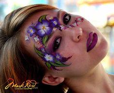 by Mark Reid Art - Master Body Painter, via Flickr