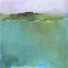 Saatchi Art: Secret Vermont Oasis Painting by Jacquie Gouveia