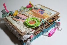 JUNK JOURNAL MAIL ART love the how it looks perfectly messy!!!