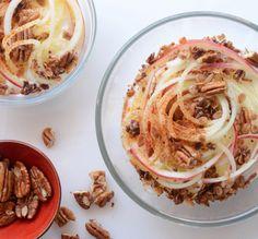 Spiral Apple Yogurt