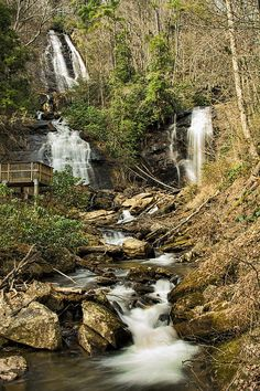 Amacola Falls Photograph by Penny Lisowski - Amacola Falls Fine Art Prints and Posters for Sale fineartamerica.com #pennysprints #pennyl #photography