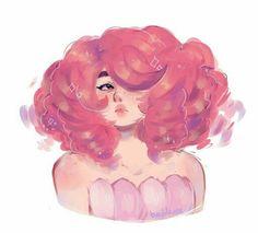 Rose with short hair