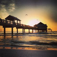Clearwater Beach, Florida Sunset...