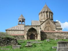 Popular belief holds that the head of John the Baptist is buried below the altar of century Gandzasar Monastery near Vank, Republic of Nagorno Karabakh. John The Baptist, The Republic, Bury, Altar, Barcelona Cathedral, Popular, Building, Most Popular, Buildings