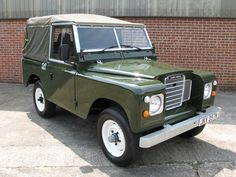 Land Rover 88 Series III soft top canvas. So nice.