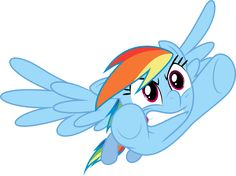 Angry Rainbow Dash coming at you by Yetioner.deviantart.com on @deviantART