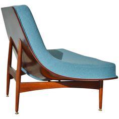 Fabulous Donahue Coconut Chair with Rare Wood Base New Latex and Wool | 1stdibs.com