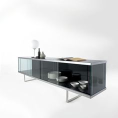 modern sideboard table low - Google Search