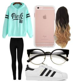 """Untitled #97"" by journeycarothers on Polyvore featuring Wolford and adidas"