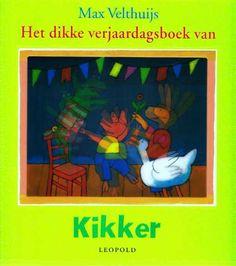 Het dikke verjaardagsboek van Kikker - Max Velthuijs