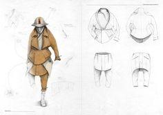 "Dainius Bendikas: ""Infinite We Are"" A/W 12 - Thisispaper Magazine Textiles Sketchbook, Fashion Sketchbook, Art Sketchbook, Fashion Sketches, Art And Illustration, Illustrations, Drawing Sketches, Drawings, Fashion Boards"