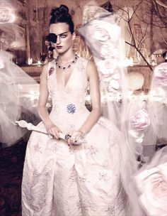embellished white eveningwear: georgia taylor by yuval hen for how to spend it 21st november 2014