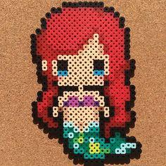Ariel (The Little Mermaid) perler beads by tsubasa.yamashita