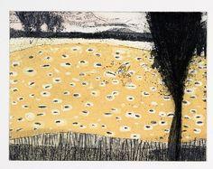"Etching, Aquatint, Intaglio print, ""Wormwood"" hand pulled original print by Marta Wakula-Mac"