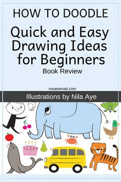 Do you want to draw doodles for fun? How to draw cute easy doodles Quick Easy Drawings, Cute Easy Doodles, Reading Benefits, Beginner Books, Reading Tips, Doodle Ideas, Nonfiction Books, Great Books, Cute Drawings