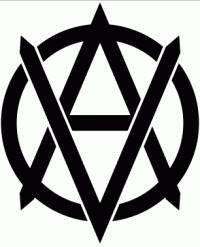 Vegan Anarchist Logo  |  Die Cut Vinyl Sticker Decal