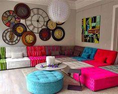 Arianne Love contemporary Fama modular sofa
