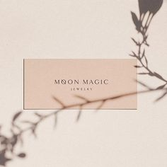 - I feel extremely grateful to be chosen to work on moon magic jewelry new logo design. So simple but yet so beautiful. More to come on this… Source by southernnobleco Collateral Design, Stationery Design, Corporate Design, Graphic Design Typography, Identity Design, Hangtag Design, Brand Identity, Lightroom, Photoshop