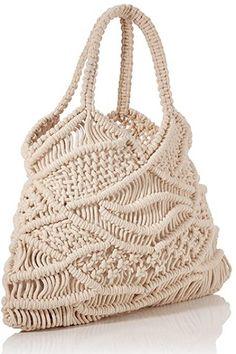 Macrame Bag, Macrame Knots, Handmade Handbags, Handmade Bags, Macrame Wall Hanging Patterns, Yarn Projects, Paracord, Crochet, Straw Bag