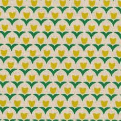 Folk Modern - Tulips in Yellow