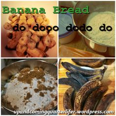 Banana Bread #banana #bread #recipes #baking upandcomingquarterlifer.wordpress.com