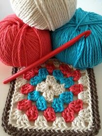 Transcendent Crochet a Solid Granny Square Ideas. Inconceivable Crochet a Solid Granny Square Ideas. Granny Square Crochet Pattern, Crochet Poncho, Crochet Squares, Love Crochet, Crochet Gifts, Crochet Motif, Diy Crochet, Crochet Baby, Crochet Granny