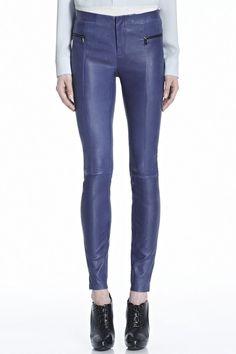 Minette Leather Pant | J Brand
