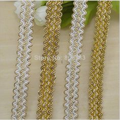 50 meters1.5cm wide white gold yellow S cluny bullion lace trimming,contact BDJIN@FOXMAIL.COM for more details