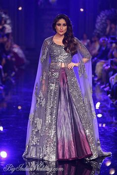 Kareena Kapoor Khan for Manish Malhotra at LFW W/F 2014