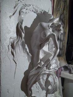 Работы художника и скульптора. Автор работ Алексей Коробка