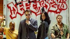 Os Defensores ganha novo pôster com Punho de Ferro, Jessica Jones, Luke Cage e Demolidor
