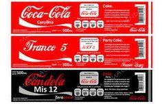 etiquetas antique de colas imprimibles - Bing Imágenes Miniture Food, Miniture Things, Printable Labels, Printable Paper, Candy Crafts, Paper Crafts, Coca Cola, Birthday Calender, Doll House Crafts