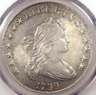 1799 Draped Bust Silver Dollar $1 BB-165 B-8 - PCGS VF Details - Near XF!