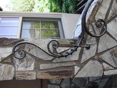 organic style hand rail