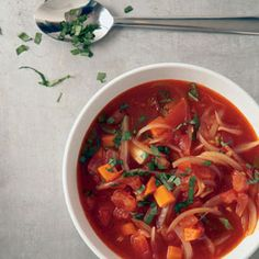 Tomato Soup | MyRecipes.com #MyPlate #vegetable