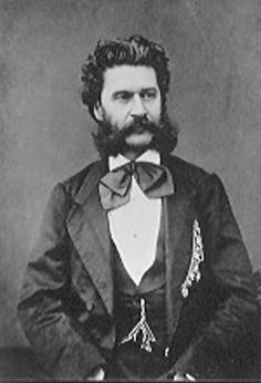 Johann Strauss II (October 25, 1825 – June 3, 1899) was an Austrian composer of light music, particularly dance music and operettas. Some of Johann Strauss's most famous works include The Blue Danube, Kaiser-Walzer and Die Fledermaus #feelaustria