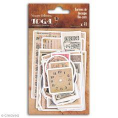 Compra nuestros productos a precios mini Set troquel Toga - Tiempo de secretos - 41 uds - Entrega rápida, gratuita a partir de 89 € !