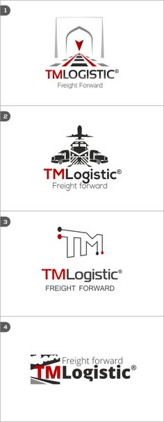 Logo design for a logistic company