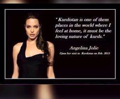 Angelina Jolie's idea about kurdistan