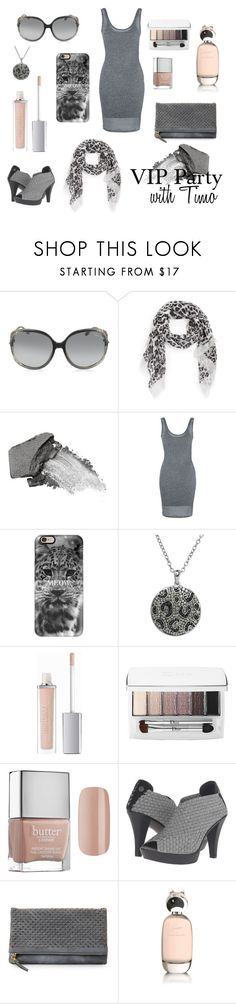 """""""SWD Love Tangle - VIP party with Timo Salminen"""" by thatshippertypefangirl ❤ liked on Polyvore featuring Roberto Cavalli, MICHAEL Michael Kors, Jane Iredale, Topshop, Casetify, Animal Planet, ArtDeco, Christian Dior, Butter London and Bernie Mev"""