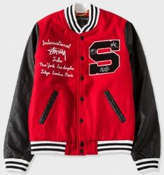 Womens Lettermans Jacket