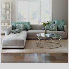 Haute House: Sevina Tufted sectional sofa