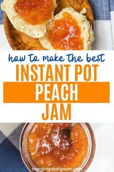 Jelly Recipes, Jam Recipes, Canning Recipes, Canning Tips, Freezer Recipes, Good Peach Cobbler Recipe, Peach Freezer Jam, Fresh Peach Recipes