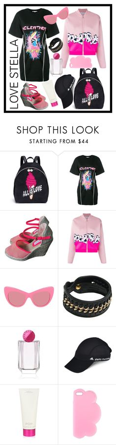 """""""Love Stella Mccartney"""" by ahuserapx ❤ liked on Polyvore featuring STELLA McCARTNEY and adidas"""