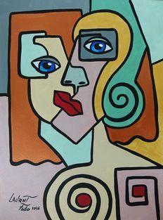 Laurent Folco - La Femme - Cubism
